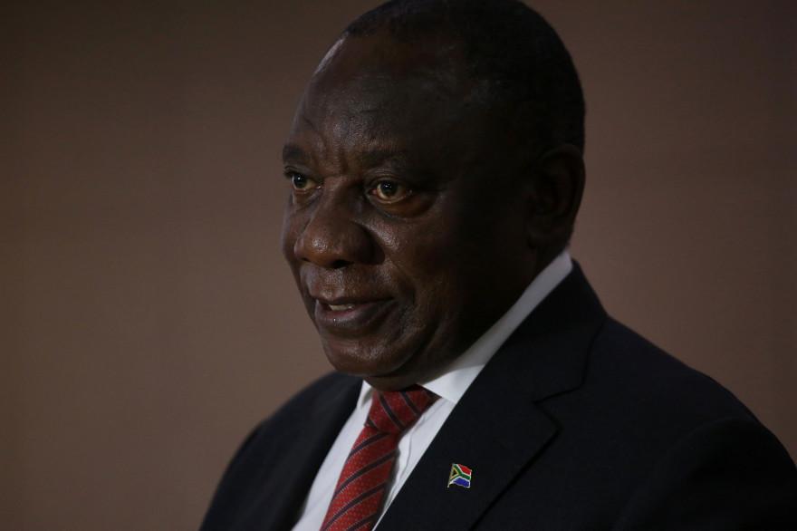 Le président sud-africain Cyril Ramaphosa a suspendu de ses fonctions une de ses ministres