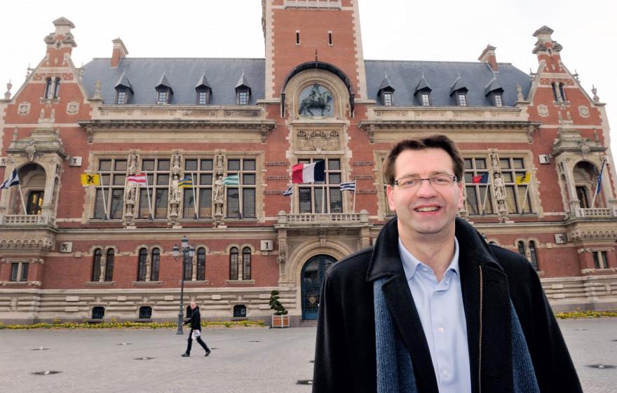 Patrice Vergriete, maire de Dunkerque