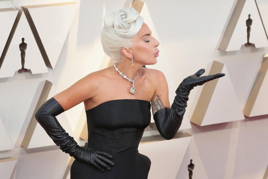 Lady Gaga à la soirée des Oscars 2019