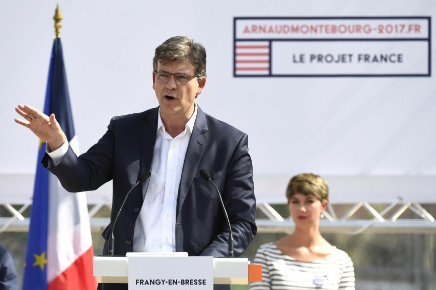 Arnaud Montebourg à Frangy-en-Bresse (Saône-et-Loire), le 21 août 2016