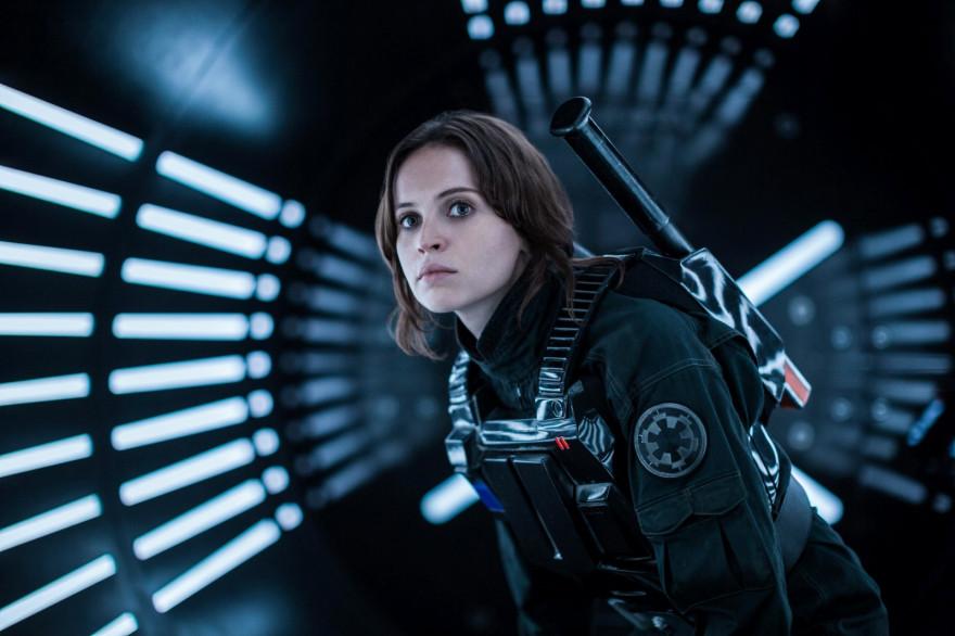 """Jyn Erso dans """"Star Wars : Rogue One"""" est l'héroïne de l'histoire"""