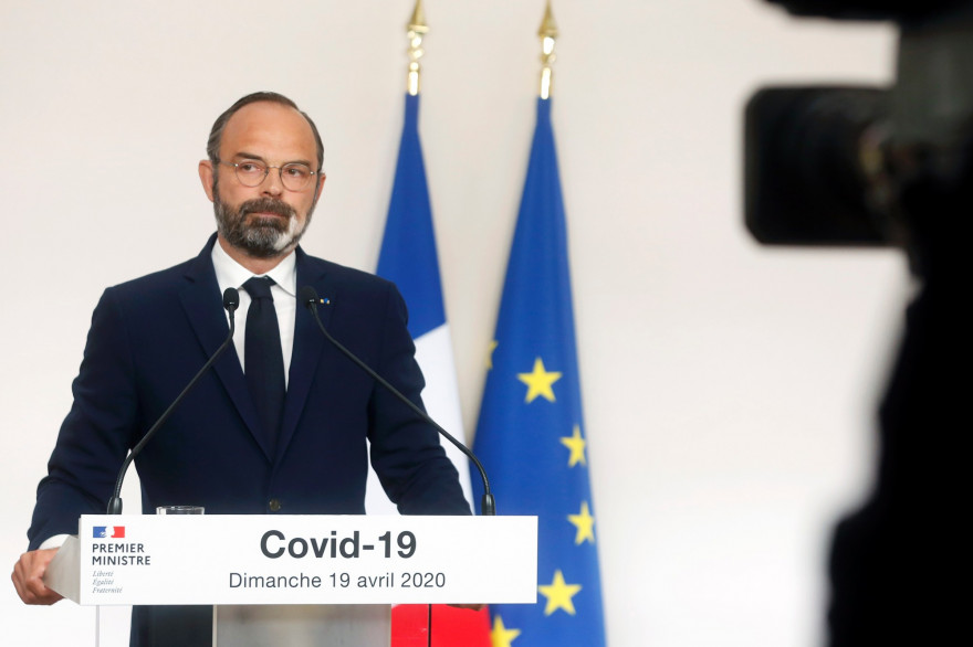 Edouard Philippe, le 19 avril 2020
