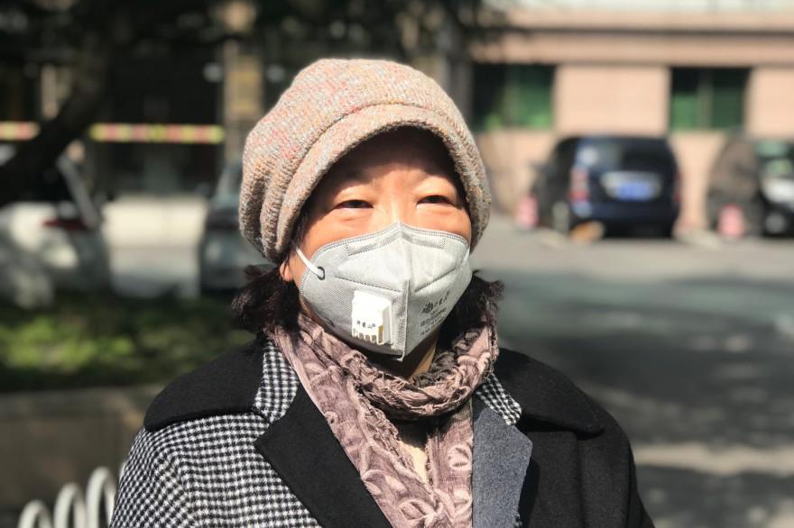 La romancière chinoise Fang Fang