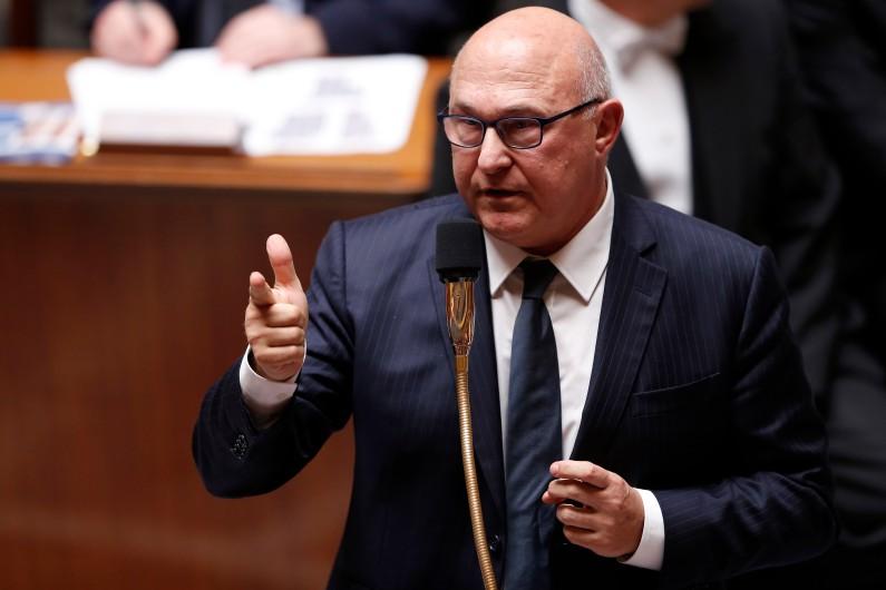 Michel Sapin, ministre de l'Économie et des Finances