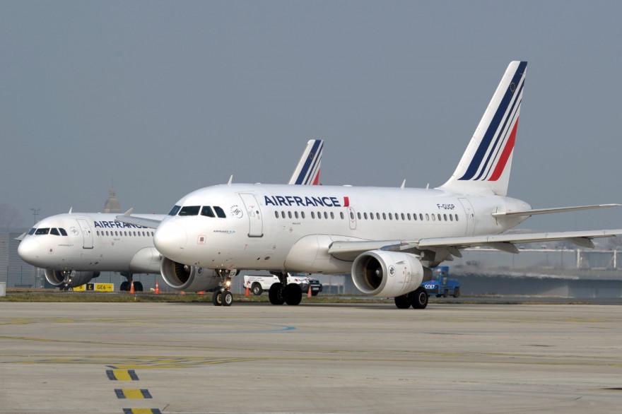 Des avions du groupe Air France (Illustration).