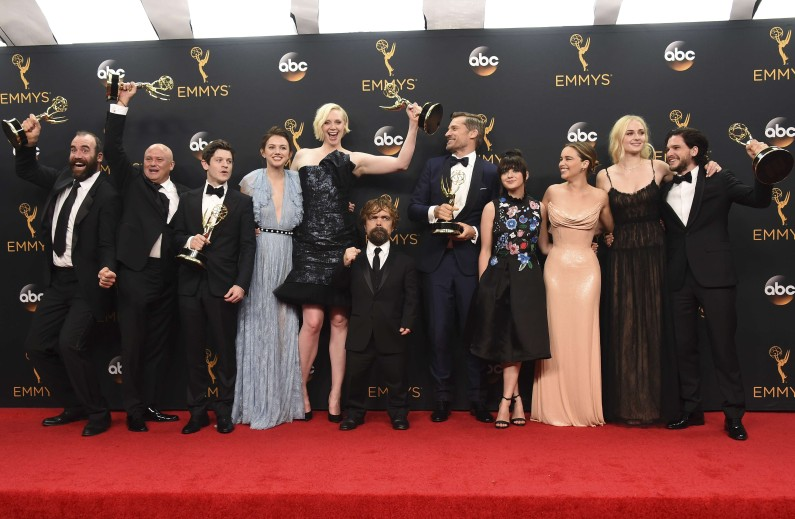 "Le casting de ""Game of Thrones"" aux Emmy Awards 2016"