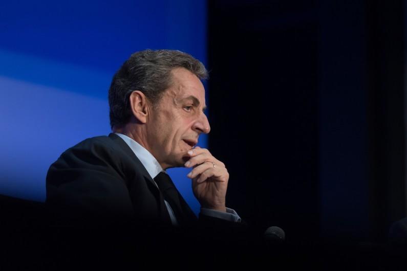 Nicolas Sarkozy à Paris, le 27 septembre 2016