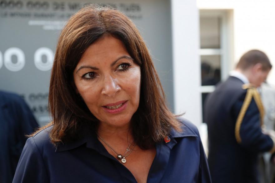 Anne Hidalgo, la maire de Paris (Illustration).