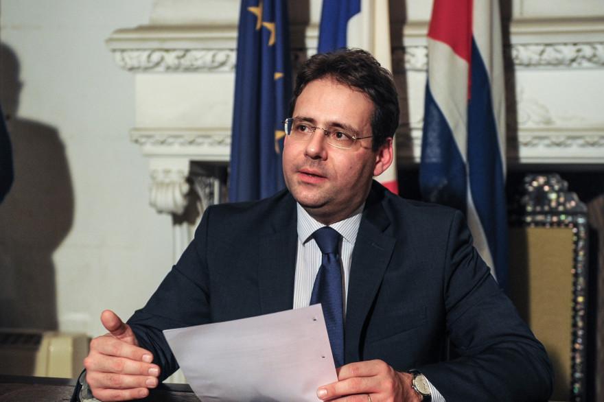 Matthias Fekl, secrétaire d'État au Commerce extérieur, à la Promotion du tourisme et aux Français de l'étranger.