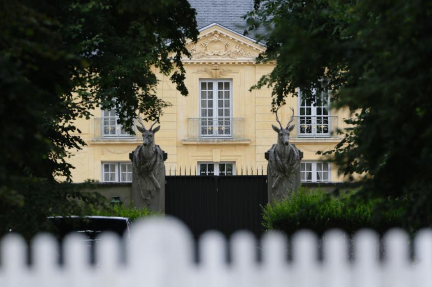 La résidence présidentielle de la Lanterne