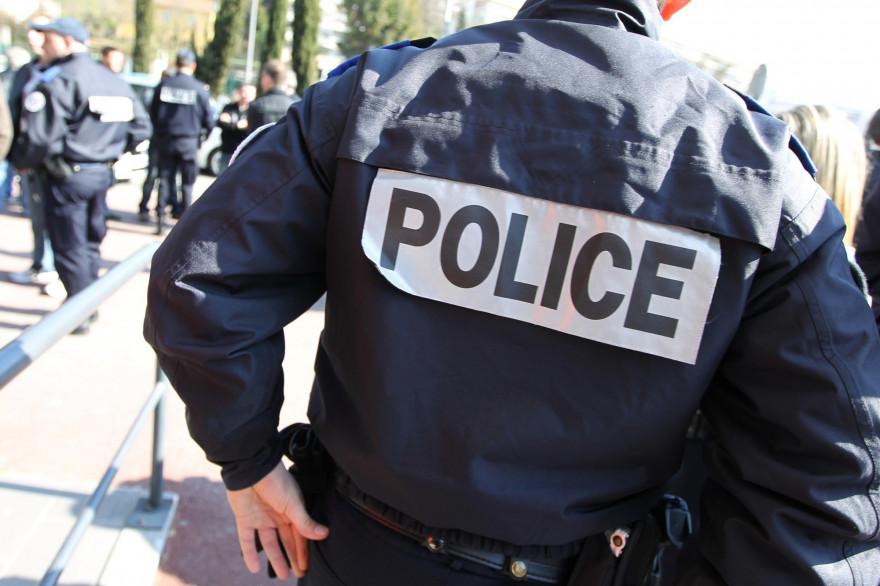 Un policier (illustration)