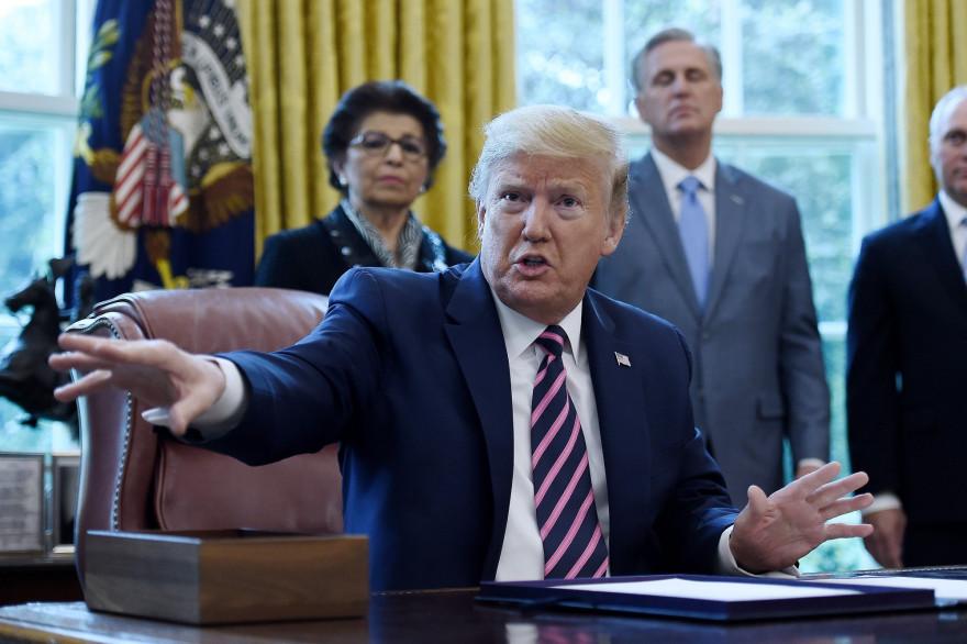 Le président américain Donald Trump, le 24 avril 2020