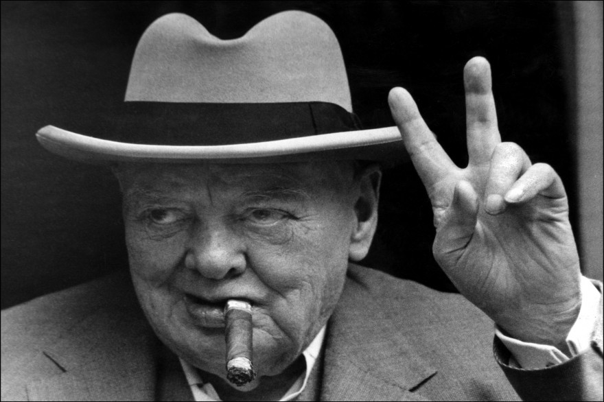 Winston Churchill, le 19 juin 1963 (archives)