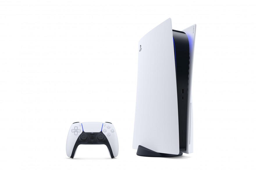 La PS5 rompt avec la sobriété de la PS4 au profit d'un style plus futuriste
