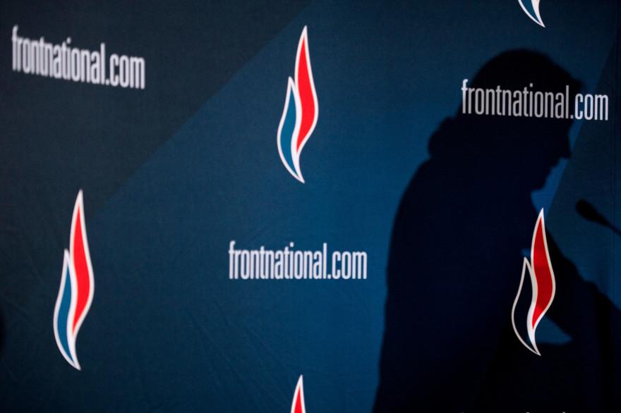 Le logo du Front national (illustration)