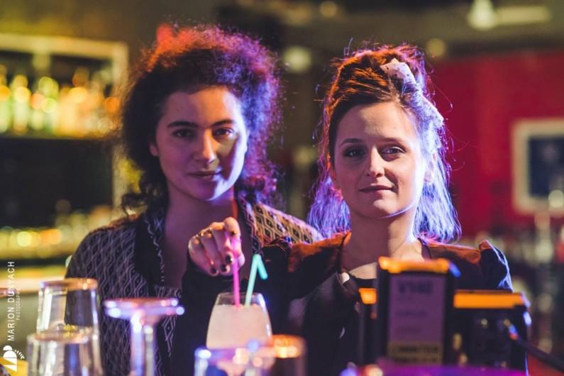 """Camille Ghanassia et Sophie Garric, créatrices de la websérie """"Le Meufisme"""""""