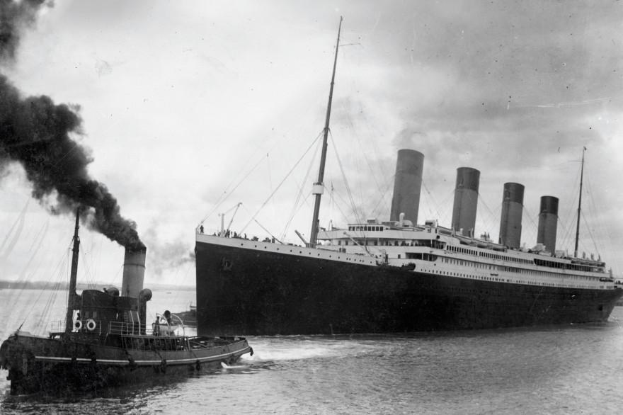Le Titanic en avril 1912