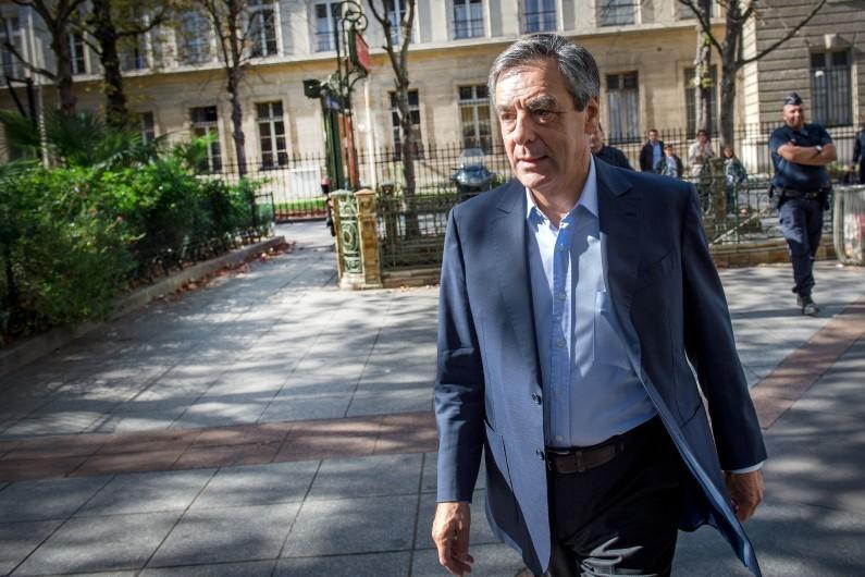 François Fillon à Paris, le 1er octobre 2016