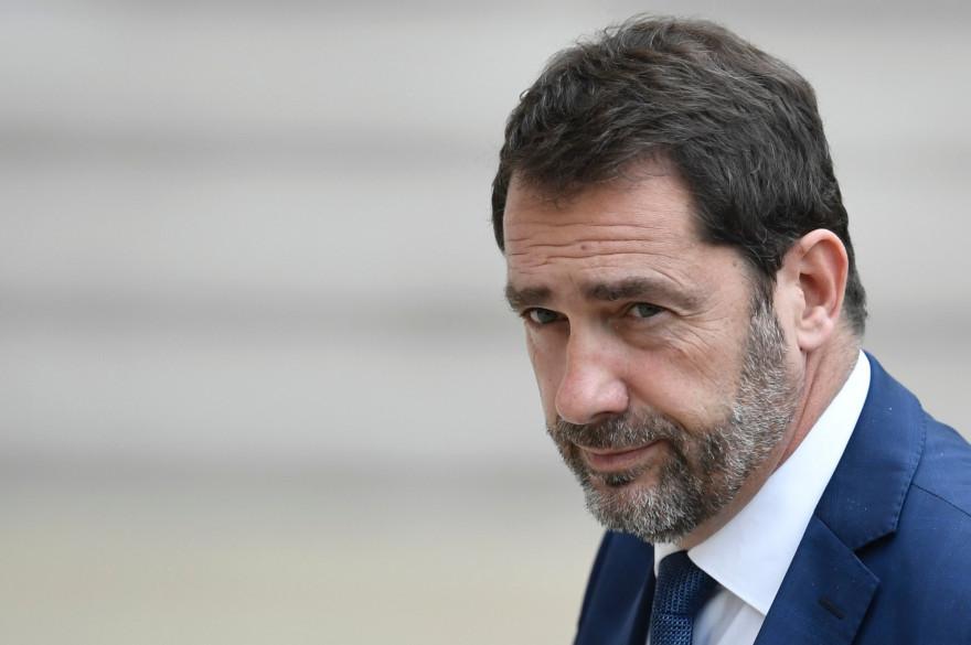 L'ancien ministre de l'Intérieur Christophe Castaner, à l'Élysée.