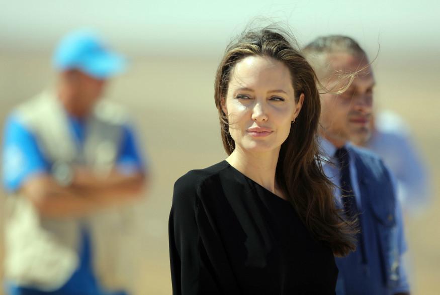 Angelina Jolie, l'héroïne du jour de Cara Delevingne.