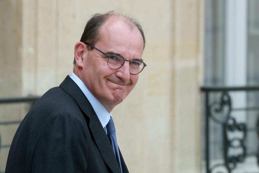 Jean Castex, Premier ministre, le 15 juillet 2020, au Palais de l'Élysée, à Paris