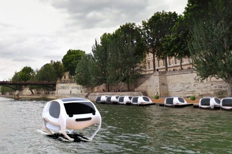 Les Sea Bubbles vont bientôt fendre Paris via la Seine