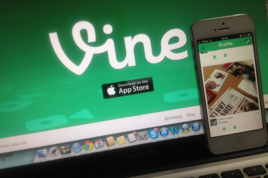 L'application Vine