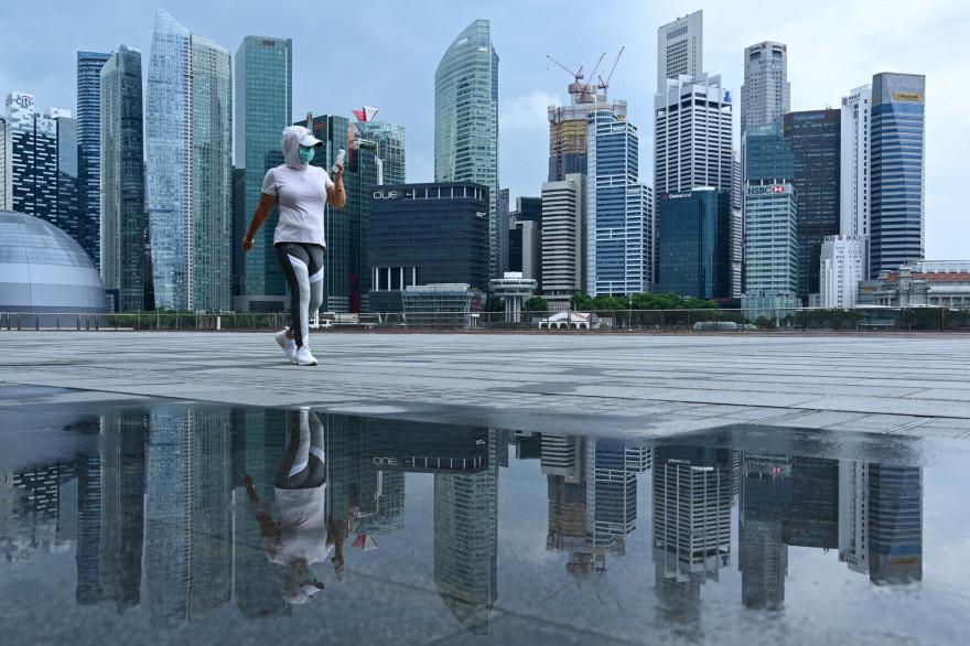 Singapour le 4 mai 2020 (Illustration)