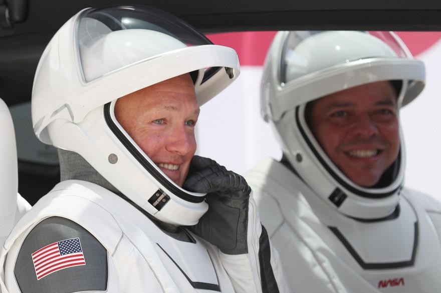 """Les astronautes américains Bob Behnken et Doug Hurley """"espèrent"""" pouvoir rentrer sur Terre ce dimanche 2 août"""