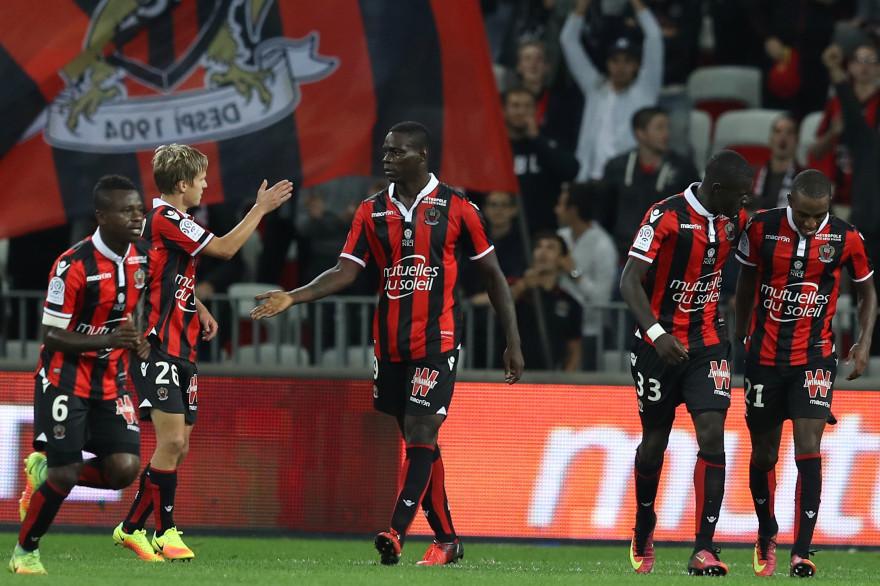 Mario Balotelli (au centre) et les Niçois ont réalisé un quasi sans-faute depuis le mois d'août