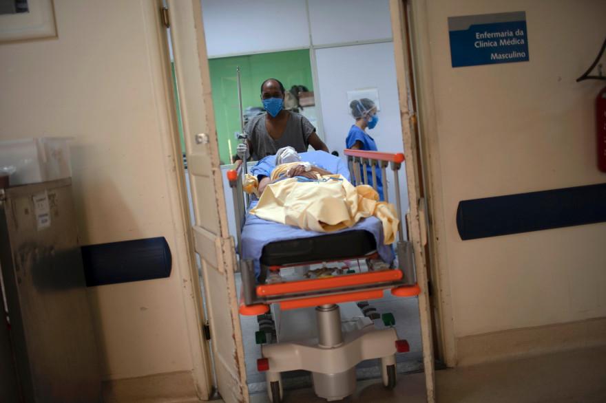 L'hôpital universitaire de Pedro Ernesto à Rio de Janeiro, le 15 juillet 2020