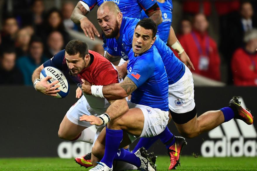 Le match France-Samoa le 12 novembre 2016