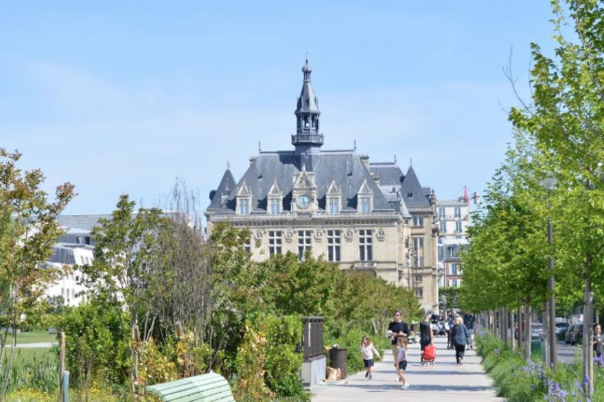 La mairie de Vincennes.