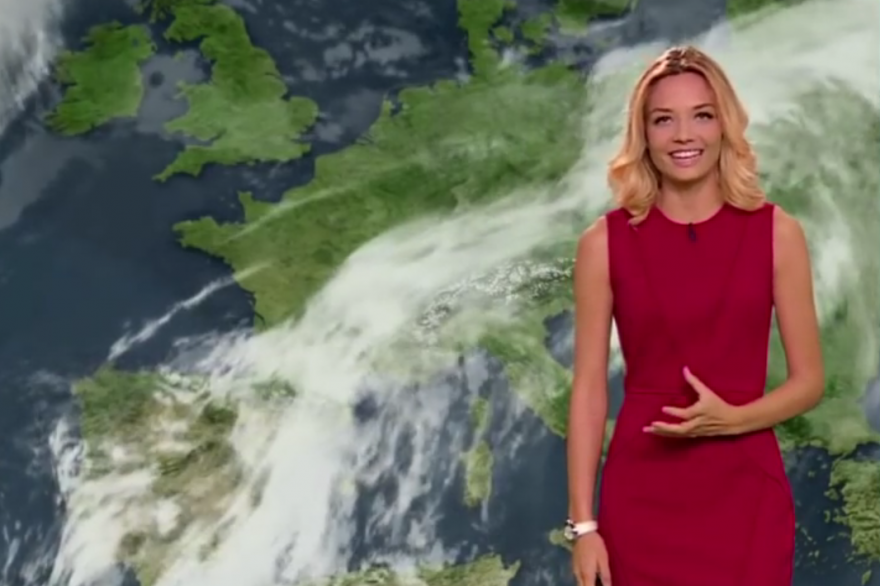 La météo de Gennifer Demey le 25/10/2016 sur M6