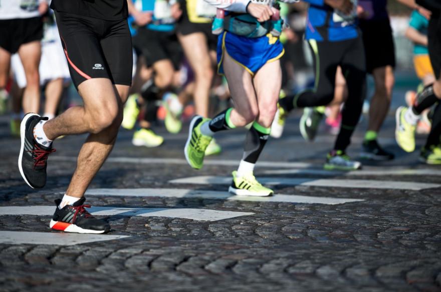 Des coureurs participant au Marathon de Paris (Illustration).