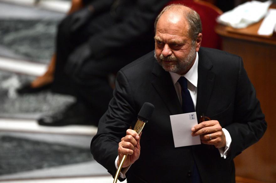 Éric Dupond-Moretti à l'Assemblée nationale le 8 juillet 2020