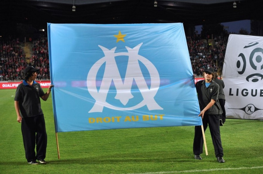 Le logo de l'Olympique de Marseille