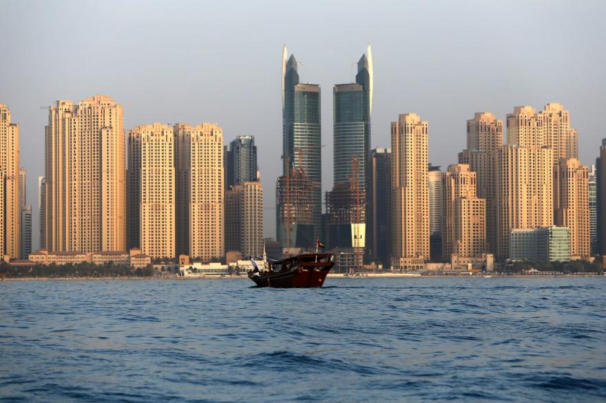 Une vue de Dubaï, le 23 mai 2015 (illustration)