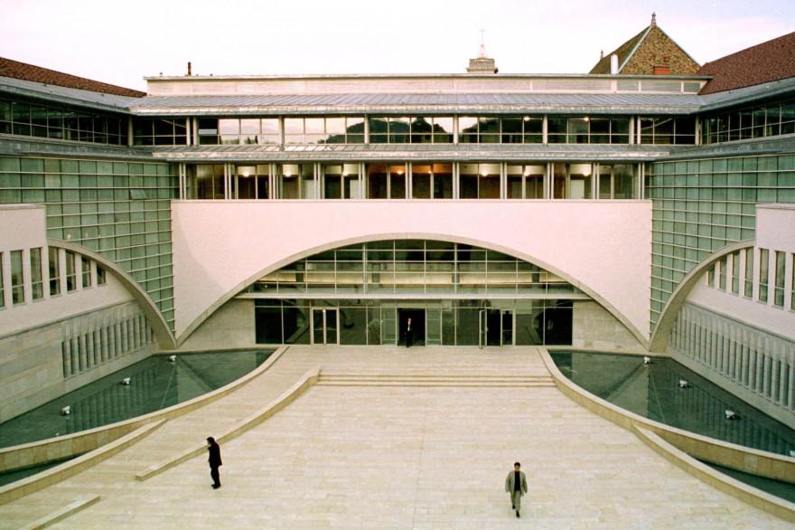 Le Palais de Justice de Besançon (Doubs), en février 2013.