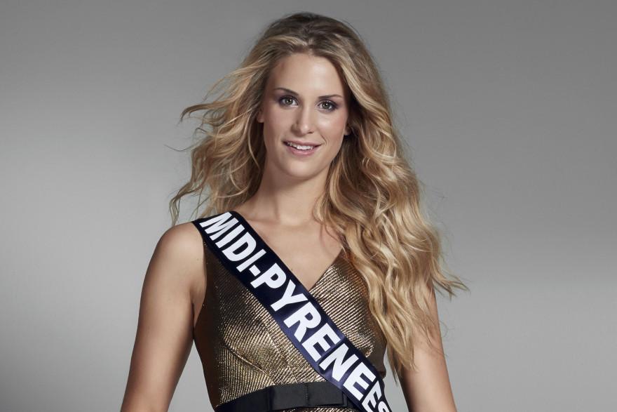 Virginie Guillin, jolie Miss Midi-Pyrénées