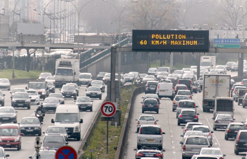 Seuls les véhicules impairs sont autorisés à circuler ce mercredi 7 décembre