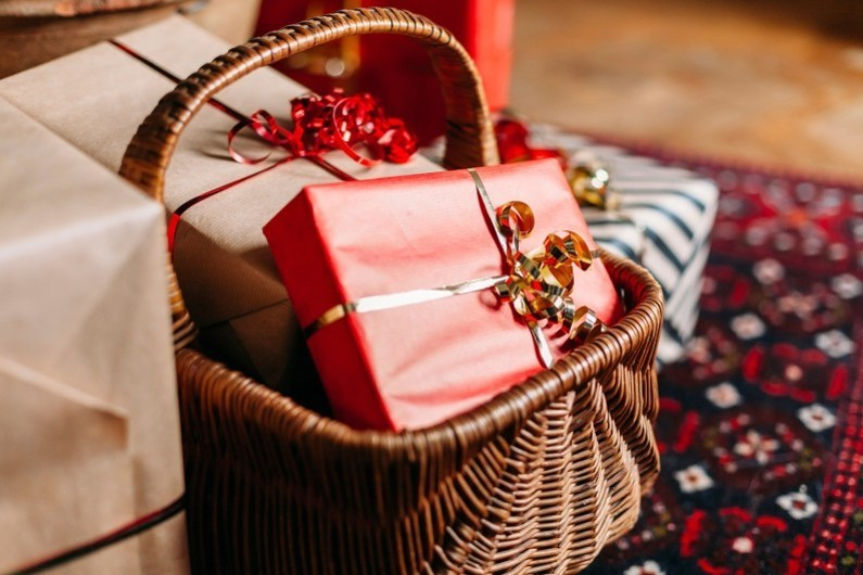 Des cadeaux de Noël (illustration)