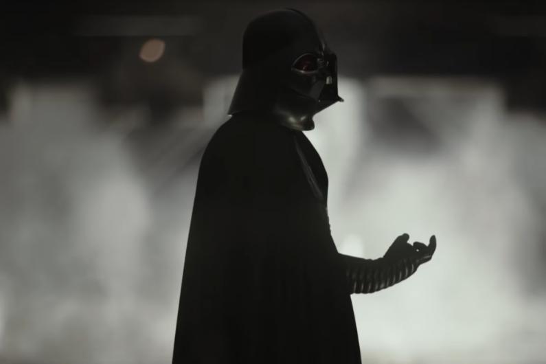 """Dark Vador dans le trailer de """"Rogue One"""""""