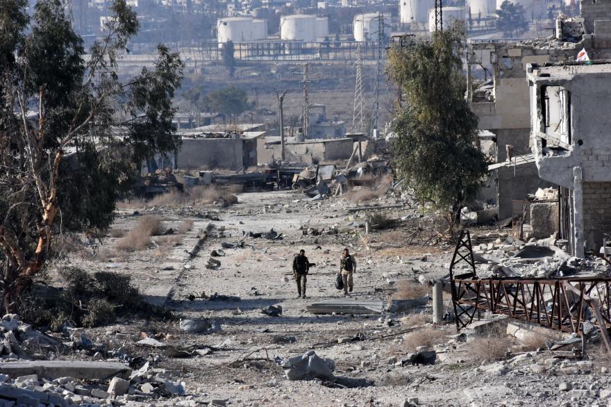 Alep, le 12 décembre 2016