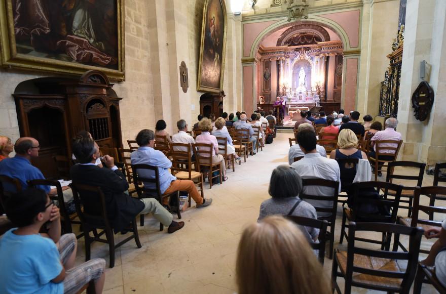La chapelle de l'église Notre-Dame à Bordeaux