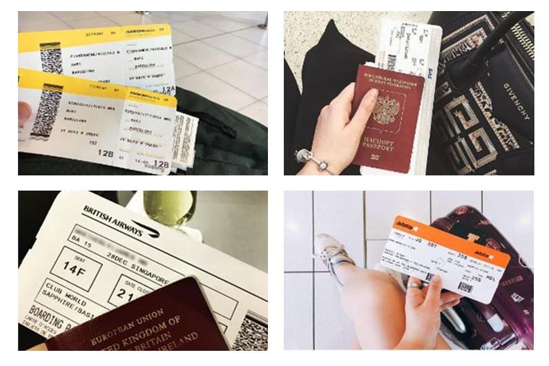 Publier un billet d'avion sur les réseaux sociaux l'expose au piratage