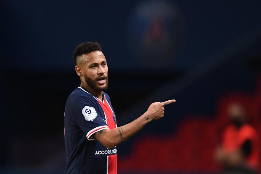 Neymar, lors du Clasico face à Marseille, dimanche 13 septembre