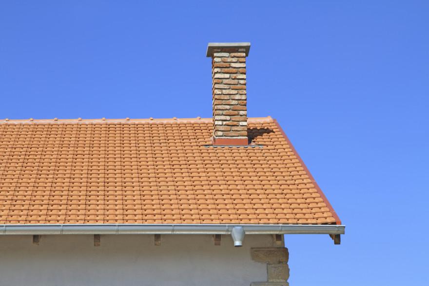 Le toit d'un pavillon (Illustration).