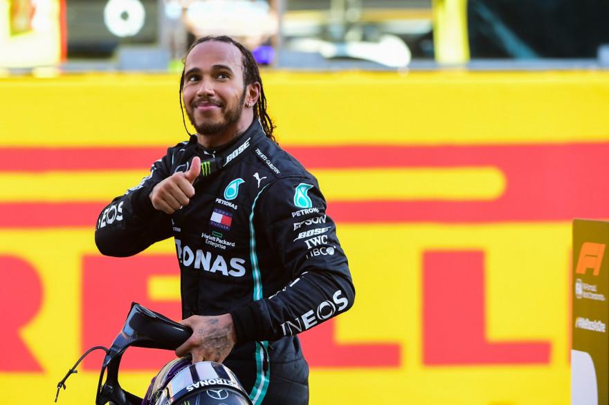 Lewis Hamilton au Grand Prix de Toscane le 13 septembre 2020