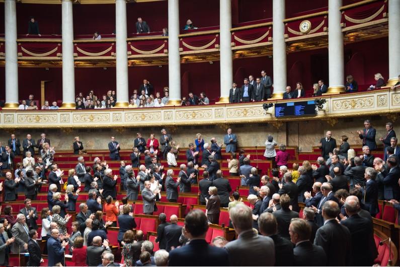L'Assemblée nationale, le 18 octobre 2016.